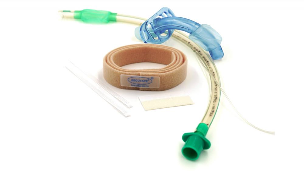 Universal-Band / Fixierung für/von Endotrachealtuben, Trachealkanülen
