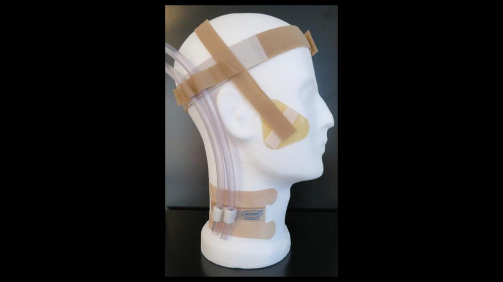 Head holder ECMO / Fixations of a veno-arterial ECMO