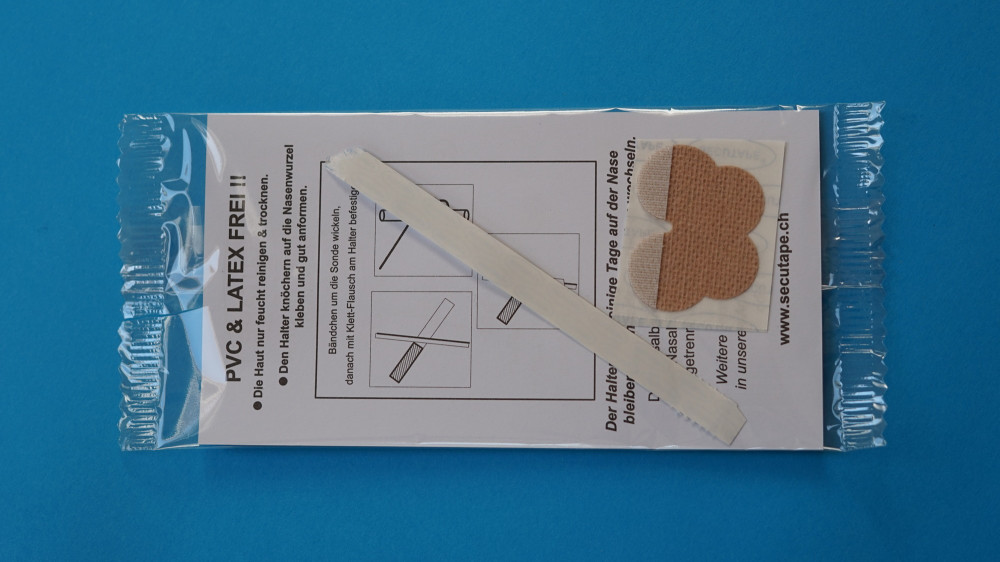 Nasal fixation / Set nonwoven