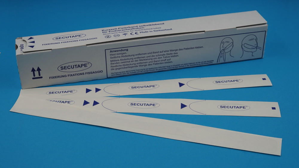 Short-term fixing tape / Short-term fixing tape for endotracheal tubes